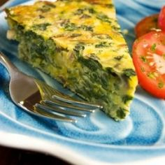 What could be nicer for lunch, dinner or even as an appetizer than Henrietta Sparkman's Spinach/Broccoli Quiche. Lighter than the usual quiche but just as delicious! Dukan Diet Recipes, Low Carb Recipes, Real Food Recipes, Cooking Recipes, Healthy Recipes, Cooking Time, Vegetarian Recipes, Healthy Food, Broccoli Quiche