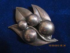 Sterling Silver Brooch by Jopol for Georg Jensen USA