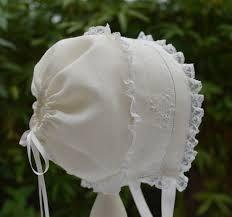 Resultado de imagem para baby bonnet
