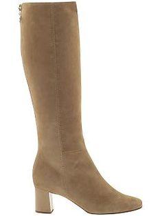 Kate Spade New York ,Tavie. suede camel boot.