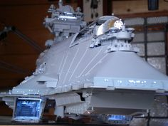 "Original Kit bash ship ""Tempest"" by yuumi2891103 over at the therpf.com"