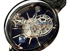 Astronomia Tourbillon, la montre qui fait tourner les têtes et les planètes #horlogerie