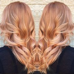 Why you should be embracing the rose gold hair trend.