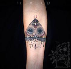 Artist: Chris Rigoni Tattooer - this one covers a scar