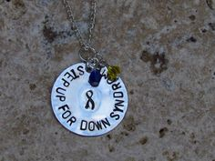 Support Down Syndrome Awareness!   Step Up For Down Syndrome Sterling Silver Chain $27.00