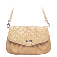 """Jane-Sand Grace Adele Clutch    Cute and curvy, Jane features a glossy cross-stitched pattern or sleek animal print that adds just enough intrigue to your perfect look.     Fits inside the exterior pocket on your favorite Grace Adele bag.     • Faux leather  • 10"""" L, 6"""" H  • 26.75"""" detachable strap    https://myfashions.graceadele.us/GraceAdele/Buy/ProductDetails/10607    click on picture to see more fashion"""