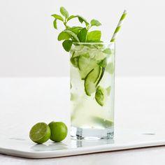 CUCUMBER FRESH MINT: Soda de Limão, Limão, Pepino e Hortelã