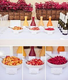 Insider's Tips: Tip #5:  Alternate Day for your wedding.  Sunday morning brunch with mimosas? Yes, please!