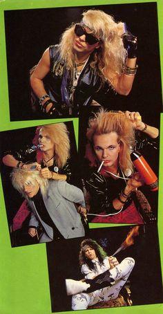 Poison ☠️ Big Hair Bands, 80 Bands, Hair Metal Bands, Music Bands, Rock Bands, Glam Metal, Poison The Band, Hard Rock, Bret Michaels Poison