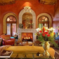 """""""Casa Heyne"""" The hill-top property is an architectural masterpiece, inspired by the historic and iconic designs of local Mexican churches, buildings and haciendas #christieshomes #luxuryrealestate #takemehere #sanmigueldeallende #mexico"""