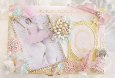 Altered Pastel Christmas Jewelry Box