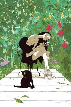 Spring Awakening Art Print by Tomer Hanuka (Timed Edition Onsale Info)