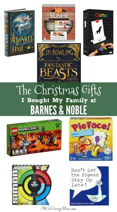 I am so amazed by all the holiday gifts at Barnes & Noble! If you're looking for one stop gift shopping with great discounts Barnes & Noble is awesome!