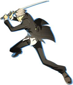 View an image titled 'Yu Narukami Art' in our Persona 4 Arena Ultimax art gallery featuring official character designs, concept art, and promo pictures. Game Character Design, Character Concept, Concept Art, Yu Narukami, Shin Megami Tensei Persona, Amazing Drawings, Persona 5, Poses, Character Illustration