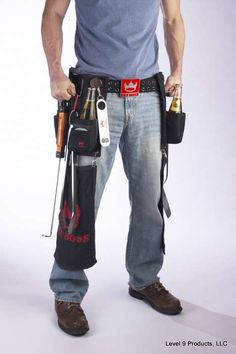 Gifts for Men - The Pit Boss Barbecue Tool Belt  http://pitbossbelt.com/wp/grilling_gifts_for_men_bbq_gift_guide