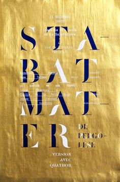 gold and navy #poster