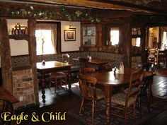 Inside the Eagle & Child Pub, Oxford (Been there, done that!)