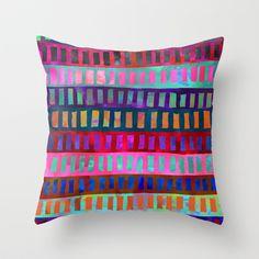 PATTERN {Geometric 001} Throw Pillow by Schatzi Brown - $20.00