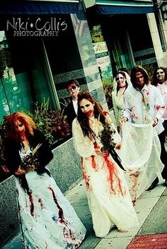 Zombie Wedding,  freaking awesome