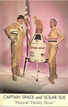 Captain Space and Solar Sue via