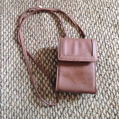 Brown Wallet bag Brown wallet bag with removable straps None Bags Crossbody Bags