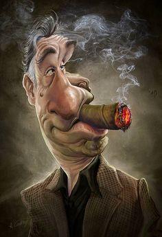 Robert de Niro   #ExtremelyFunny   #Caricature...http://blackberrycastlephotographytm.zenfolio.com/p1004515235/h439c84b0#h439c84b0