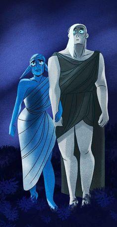 Hades And Persephone, Lore Olympus, Webtoon Comics, Greek Mythology, Manhwa, Batman, Superhero, Joker, Fictional Characters