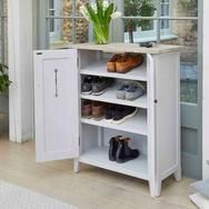 Buy the Grey Wood Shoe Storage Cabinet - Signature from Baumhaus today! A part of our Shoe Cupboards & Benches range. Shoe Storage Cupboard, Wood Shoe Storage, Hallway Storage, Shoe Cabinet, Hallway Furniture, Grey Furniture, Classic Furniture, Wooden Furniture, Wood Sideboard