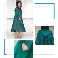 """3 Likes, 1 Comments - PLEATS, Accessories & More ... (@kalungcantikbyrine) on Instagram: """"Available in black and green • bust 112 • length 113 • IDR950"""""""