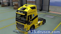 Easydrivers Driving school Skin for New Volvo American Truck Simulator, Driving School, Volvo, Trucks, Driving Training School, Truck