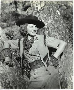 Irene Manning Cowgirl Candid Vintage Longworth Stamped Original Portrait Photo   eBay..