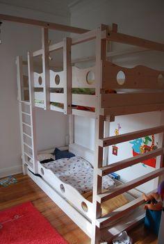 Simple Hochbett Kinderbett Etagenbett Babybett Abenteuerbett Hochbetten Spielbett Piratenbett Umbaubett Kinderzimmer Kinderm bel