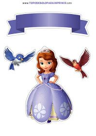 Princesa Sophia, Princesas Disney, Cake Toppers, Harry Potter, Stickers, Disney Princess, Twitter, Disney Characters, Diy