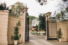 {Front Gates} Villa del Sol d'Oro venue by Chelsea Elizabeth Photography - Est. 2006, (805) 410-3171/ Info@ChelseaElizabeth.com. See additional photos of the Villa: http://chelseaelizabeth.com/the-villa-del-sol-doro/