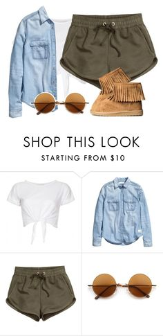 """S L I M T H I C K W I T H Y O U R C U T E A * *'"" by zaya775 ❤ liked on Polyvore featuring INC International Concepts, H&M, Retrò, women's clothing, women's fashion, women, female, woman, misses and juniors"