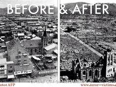Hiroshima et Nagasaki : il y a 70 ans, la bombe A faisait morts - L'Obs Hiroshima Et Nagasaki, Hiroshima Bombing, Bomba Nuclear, Ap World History, World War Ii, First Atomic Bomb, Historia Universal, Nuclear Bomb, Travel