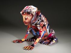 Anne Lemanski's Socially Conscious Sculpture of Animals « Beautiful/Decay Artist & Design
