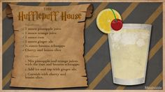 15 Magical Harry Potter Cocktails to Charm Your Palate Harry Potter Cocktails, Harry Potter Food, Harry Potter Wedding, Harry Potter Theme, Harry Potter Birthday, Party Drinks, Fun Drinks, Alcoholic Drinks, Beverages
