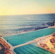The Bondi Pools, Sydney, Australia