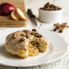 Strange Donuts -  Apple cinnamon and candied pecan