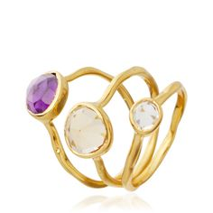 Siren Stacking Rings by Monica Vinader | AstleyClarke.com