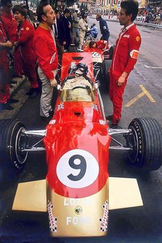 1968 Monaco GP - Lotus - Graham Hill