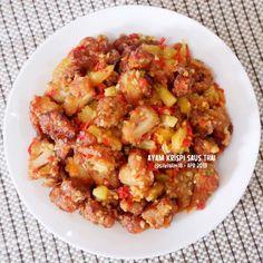 Resep ayam asam manis © 2020 Instagram/@maybelin_ma ; Instagram/@mrs.wijaya Kung Pao Chicken, Cauliflower, Vegetables, Ethnic Recipes, Food, Instagram, Cauliflowers, Meal, Head Of Cauliflower