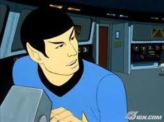 star trek the animated series - Spock