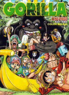 Glénat éditera les artbooks Ars Magna (Gunnm) et One Piece Color Walk Gorilla                                                                                                                                                                                 Plus