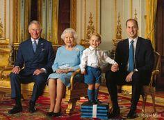 Il principe George appare sul suo primo francobollo per il compleanno di Elisabetta II  - Gioia.it