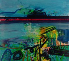 Buy art online- Achill Beach- signed limited edition silkscreen print by Barbara Rae from CCA Galleries. Abstract Landscape, Landscape Paintings, Abstract Art, Landscapes, Seascape Paintings, Barbara Rae, Street Gallery, Art Gallery, Glasgow School Of Art