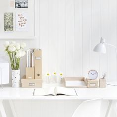 Because tidying up can be life changing – click the link in our profile to find out how to create your perfect #desk space #organisation #work #declutter