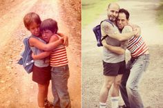 Awkward Family Photo recreations. (submitted by Michelle)