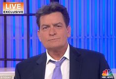 Charlie Sheen confirmed he is HIV positive in an interview with the Today show's Matt Lauer Tuesday morning